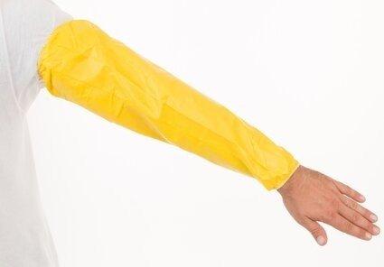 """Enviroguard ChemSplash 1 7065YS 18"""" Sleeves with Serged Seams"""