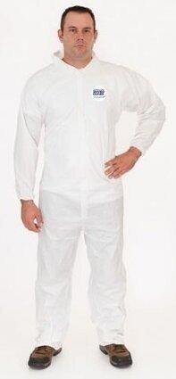 Enviroguard 8112 50 Gram Liquid Resistant Microporous Coveralls - Open Cuffs