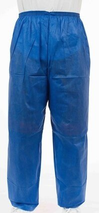 Enviroguard Soft Scrubs FS2062B Denim Blue Soft Scrub Pants with Wide Elastic Waist