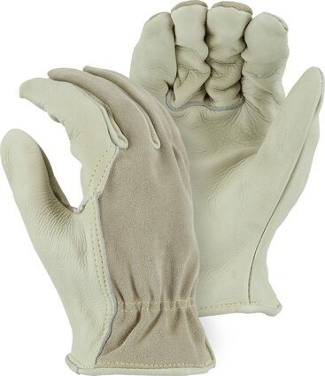 Majestic 1551 Combination Cowhide Drivers Gloves