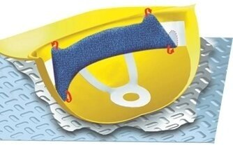 Occunomix 880 Clip-On Hard Hat Sweatband