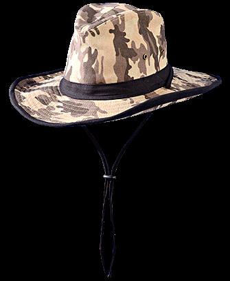 Occunomix SH500 Flexible Brim High Crown Camo Hat
