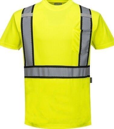 Portwest S395 Hi Vis Detroit Short Sleeved T-Shirt