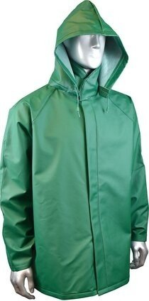 Radians RJ20-NSKV Durarad™42 Acid Gear Rain Jacket with Detachable Hood - Snap Closure