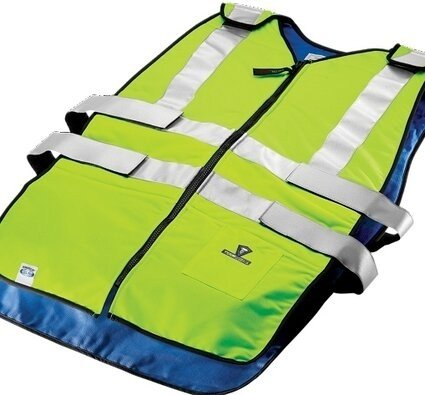 TechNiche 6626HV Type R Class 2 Phase Change Cooling Traffic Safety Vests