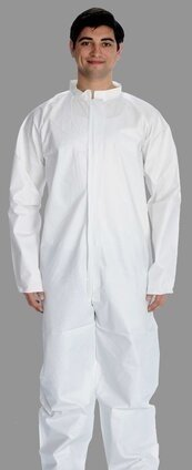 ValuMax 4901 Total LiquidGuard Coveralls with Open Cuffs & Ankles - Compare To Tyvek