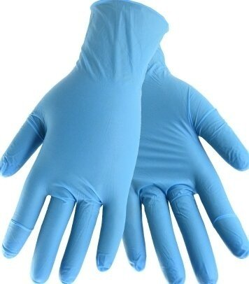 West Chester 2950 High Risk 8 Mil Powder Free Nitrile Gloves