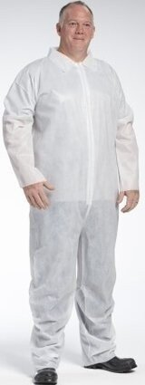 West Chester 3400 PE Laminated Water Resistant Coveralls