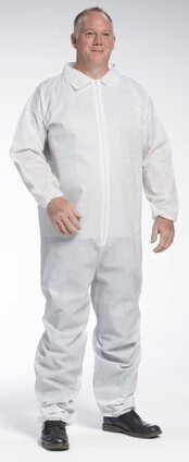 West Chester 3402 PE Laminated Coveralls - Elastic Cuffs