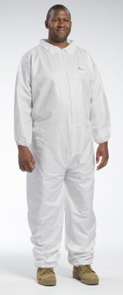 West Chester 3602 Liquid Resistant Coveralls With Elastic Cuffs