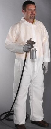 West Chester C3852 3 Layer SMS Coveralls with Elastic Cuffs