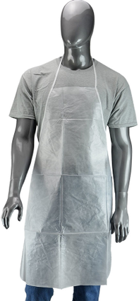 "West Chester U2510 28"" X 36"" PE Coated Waterproof Aprons"