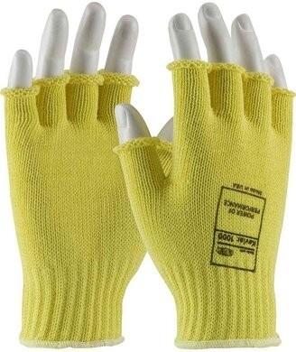 PIP Kut Gard 07-K259 Kevlar Half-Finger ANSI Cut Resistant Level A2 Gloves