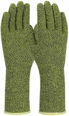 PIP Kut Gard 07-K385 Kevlar Blended Slabbers Gloves with Extended Cuff - ANSI Cut Level A6 Gloves