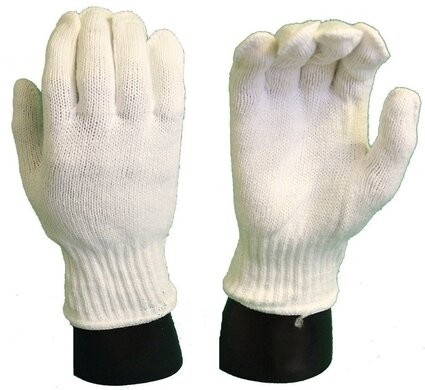 12 String Knit Poly/Acrylic Glove Liners
