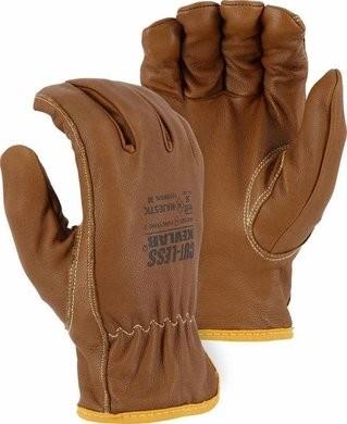 Majestic 1555WRK Cut-less Goatskin Oil & Water Resistant Gloves - Cut Level 5