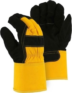 Majestic 1602 Winter Lined Cowhide Leather Gloves