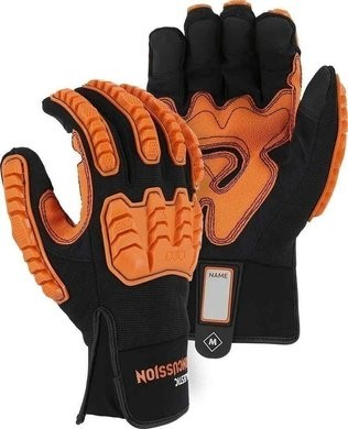 Majestic Knucklehead ANSI A3 Gloves with D3O® Impact Protection & Palm Padding