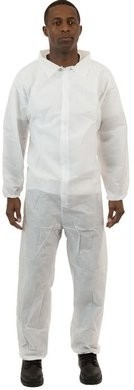 International Enviroguard SMS Coveralls - Elastic Wrists & Ankles - Size 4XL