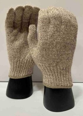Ragg Wool Winter Gloves - SIZE LARGE ONLY