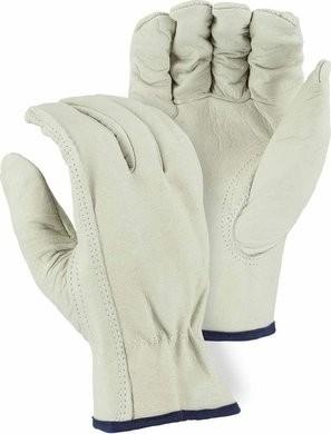 Majestic 2510 B-Grade Grain Cowhide Drivers Gloves