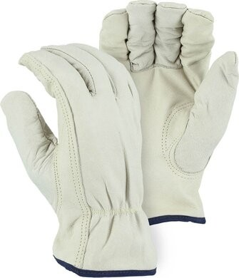 Majestic 2510KV Cowhide Drivers Cut Level A2 Gloves with Kevlar Lining