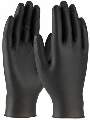 West Chester PosiShield Premium 5 Mil Powder Free  Nitrile Gloves with Textured Grip