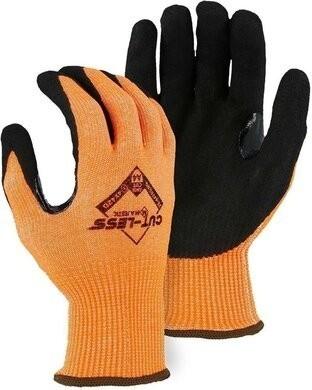 Majestic 33-4476 Annihilator Hi Vis Cut-Less Touchscreen Cut Level A4 Gloves