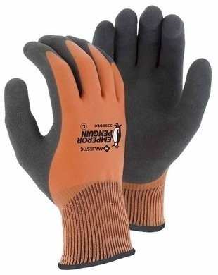 Majestic 3398 DLO- Emperor Penguin Winter  Gloves with Sandy Latex Palm