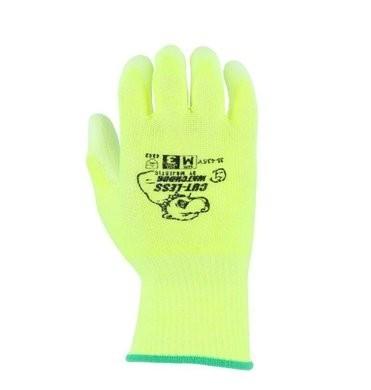 Majestic 35-435Y HPPE Hi Vis Cut Level 3 Gloves