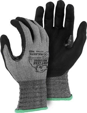 Majestic 35-7465 Cut-Less Watchdog with Foam Nitrile Palm Ansi Cut 4