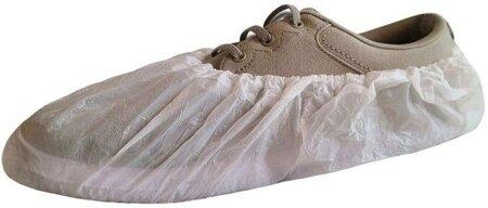 International Enviroguard Lightweight CPE White Shoe Covers