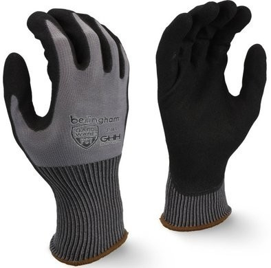 Bellingham 3708 Gardware Oil-Proof Durability PCT Palm Gloves