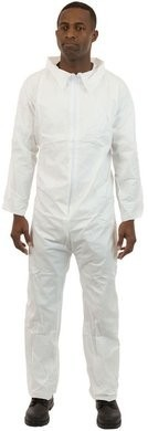 International Enviroguard SMS Coveralls - Elastic Wrists, Open Ankles - Size 4XL Only