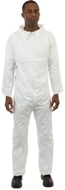 International Enviroguard SMS Coveralls - Elastic Wrists, Open Ankles