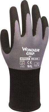 Wonder Grip WG-540 AIR 15 Gauge Nitrile Coated Gloves