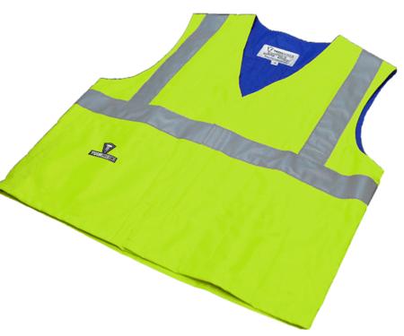 Techniche HyperKewl Evaporative Cooling Traffic Safety Vest