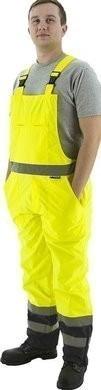 Majestic Hi Vis Waterproof Bib Overalls