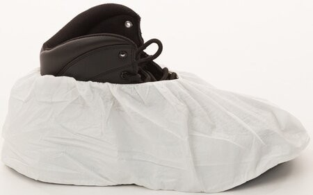 Enviroguard MicroGuard Microporous Shoe Covers - 12 Mil, Size Large - Compare to Tyvek