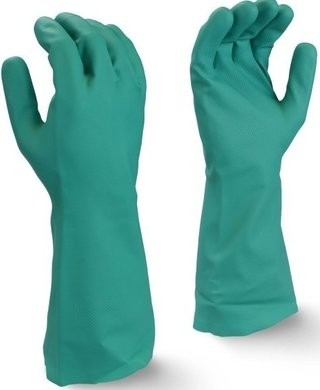 "Bellingham 81115 14"" Unsupported Nitrile Gloves - 15 Mil"