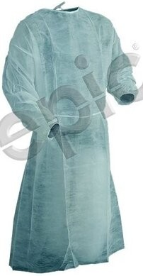Tians Basic Blue Protection Gowns - Size Extra Large