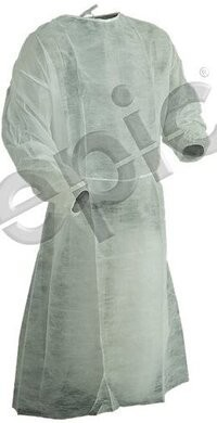Tians Basic White Protection Gowns - Size XXL