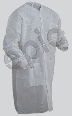 Tian's SMS Cleanroom Lab Coats With or Without Pockets