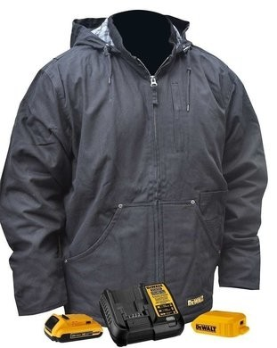 DeWalt DCHJ076ABD1 Heavy Duty Battery Heated Work Jacket