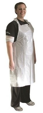 Ammex PA1.75 Mil Disposable Poly Aprons