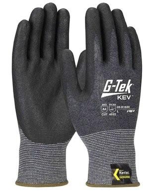 PIP G-Tek 09-K1630 Seamless Knit Kevlar/Nitrile Coated Cut Level 5 TouchScreen Gloves