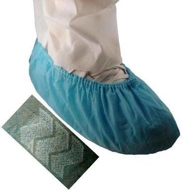 Tian's Non-Slip Blue Shoe Covers - SIZE XL - Limit 2 Cases Per Order