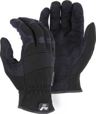 Majestic Hawk Armor Skin Slip On Gloves