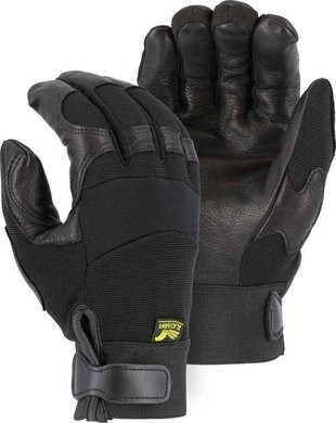 Majestic Winter Lined Mechanics Gloves with Deerskin Palm