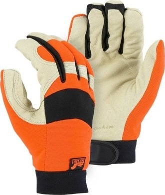 Majestic 2152THV Bald Eagle Hi Vis Thinsulate Lined Gloves
